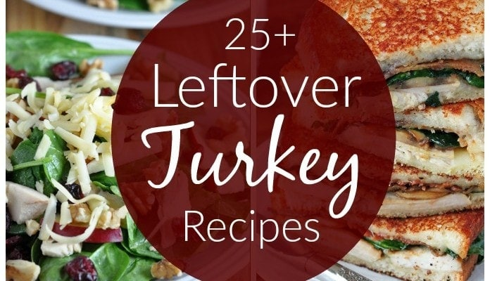 25+ Leftover Turkey Recipes