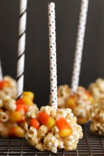 Fall Popcorn Balls