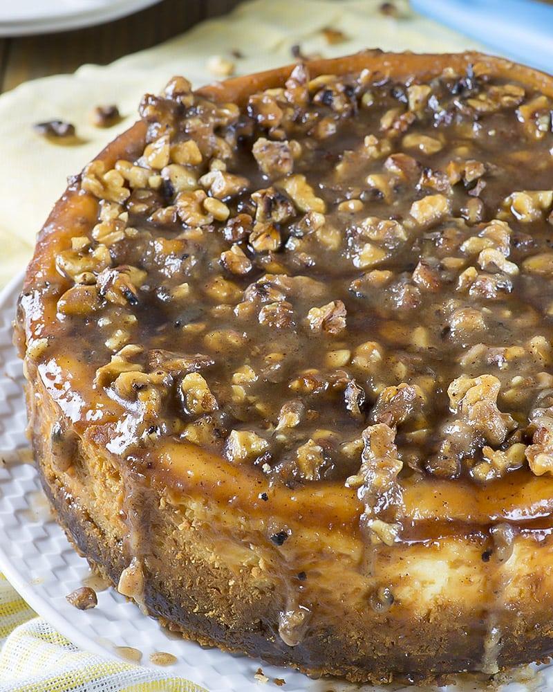 The Ultimate Pecan Pie Cheesecake Recipe Lil Luna