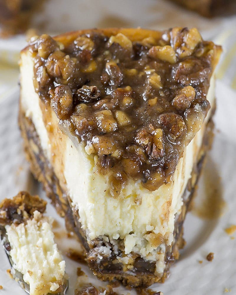 The ULTIMATE Pecan Pie Cheesecake Recipe