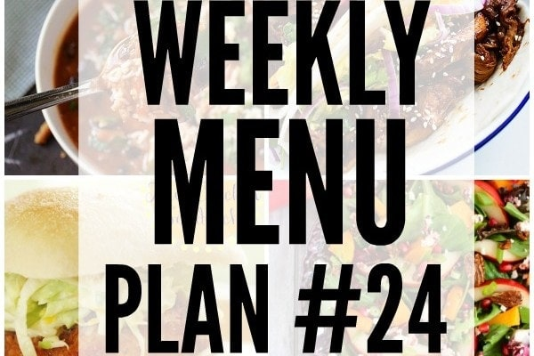 Weekly Menu Plan 24