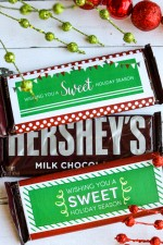 Christmas Candy Bar Wrappers – 2015