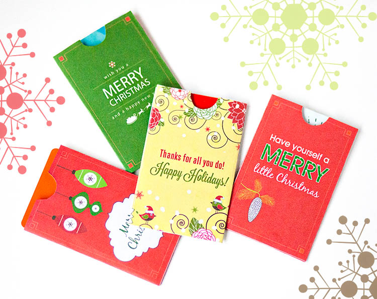 Free holiday gift card holder printables free holiday gift card holder printables download print and use for giving gifts cards negle