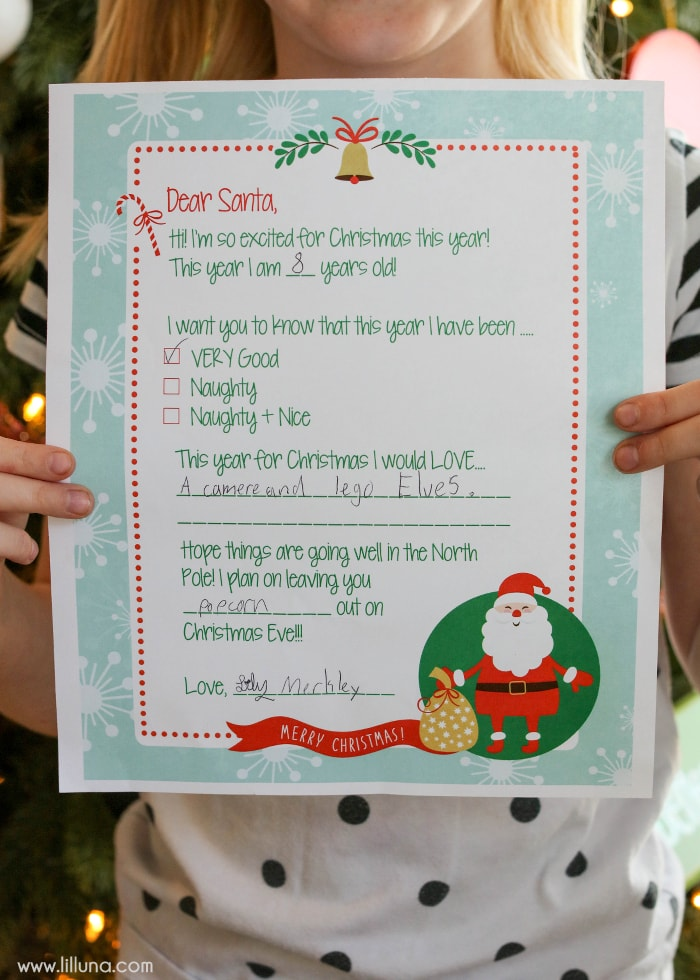 Free letter to santa print free letter to santa print perfect for the kids to fill out and send to spiritdancerdesigns Image collections
