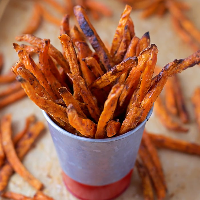 Crispy Baked Sweet Potato Fries Lil Luna