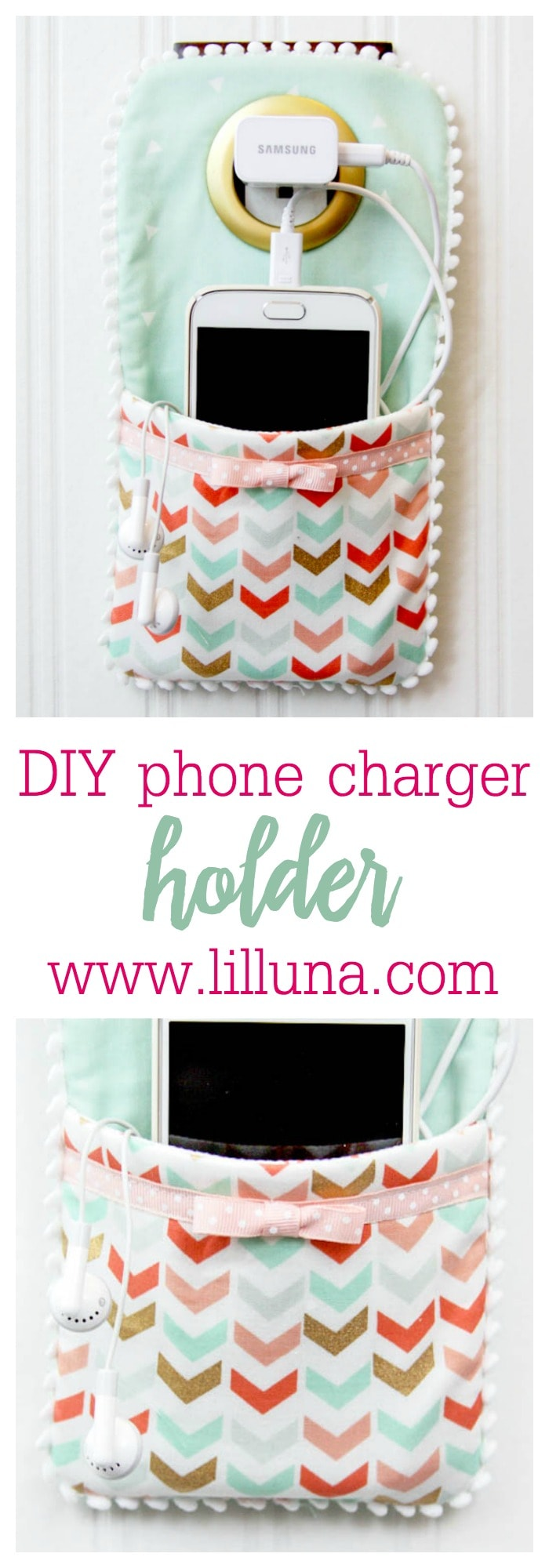 Diy Phone Charger Holder