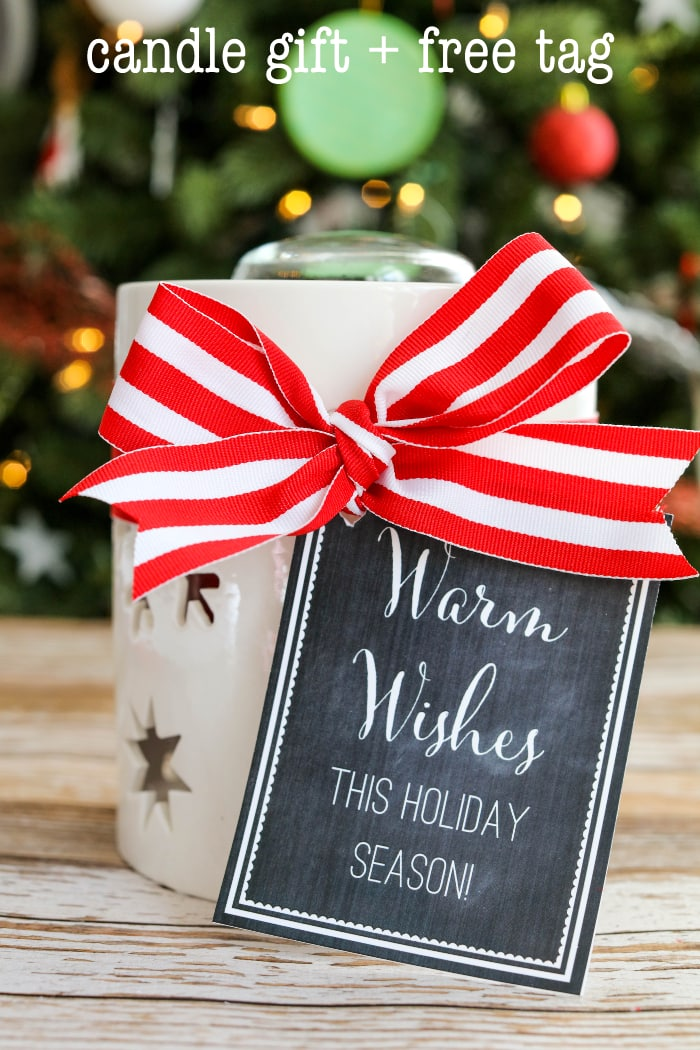 Candle gift idea for Christmas candle gift ideas