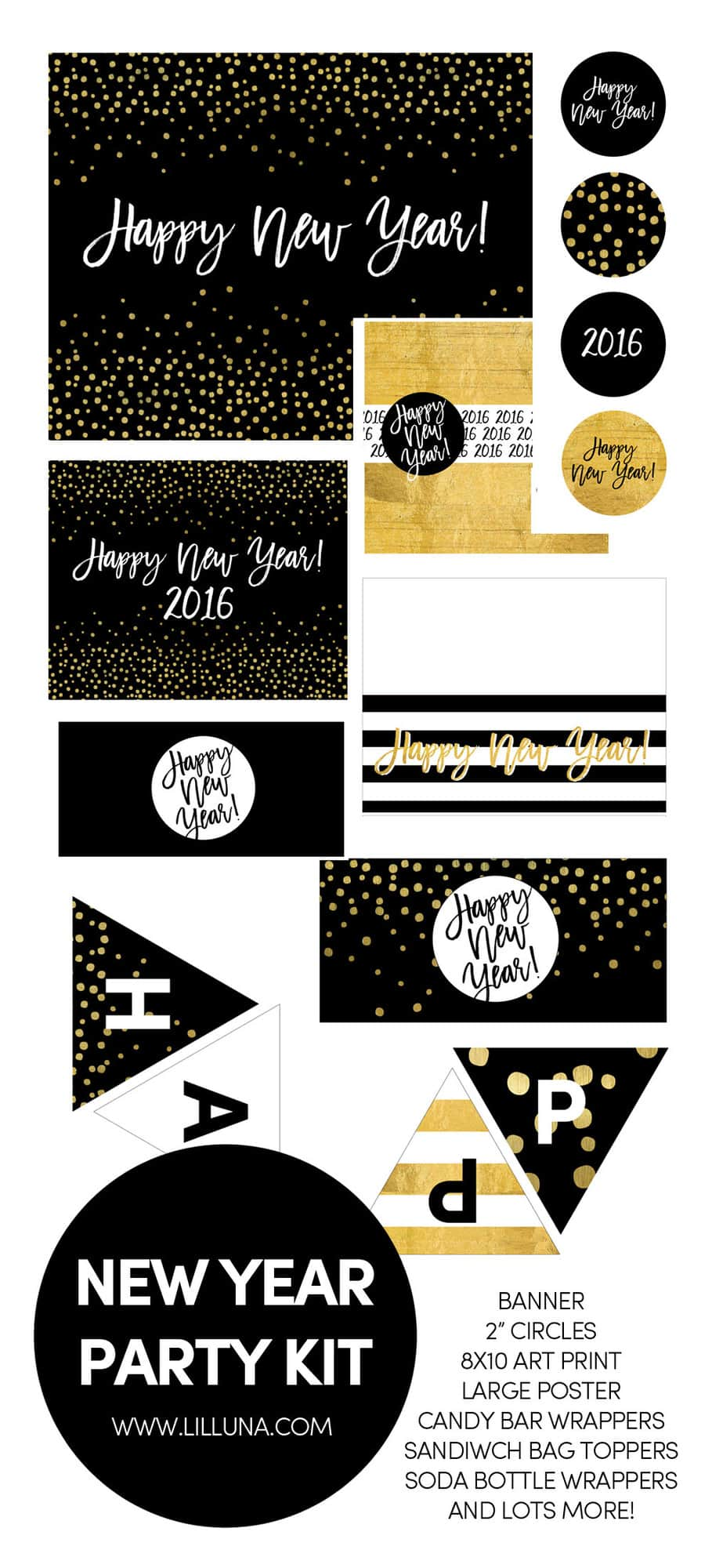 New Year Party Kit-FREE prints!! All the prints you need for your special night!
