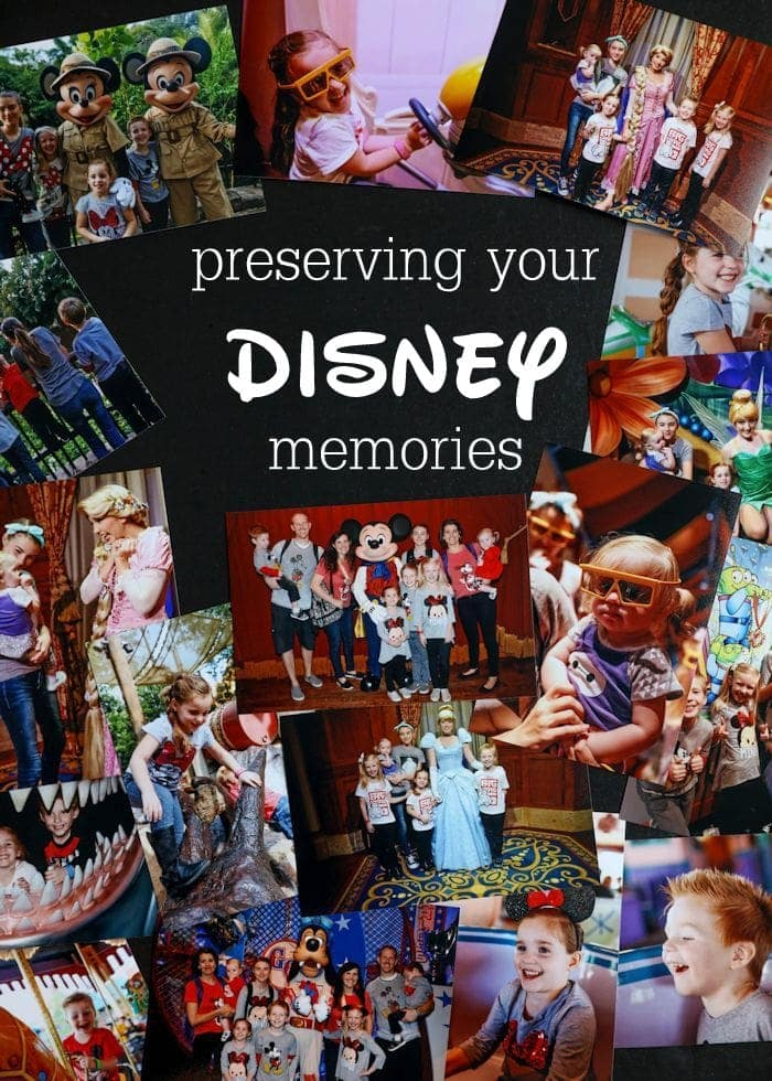 Remember your magical Disney vacation with these great tips and ideas that help you preserve your Disney memories!