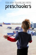 Tips for Traveling with Preschoolers