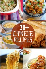 A roundup of 20+ DELICIOUS Chinese food recipes, just in time for the Chinese New Year!! { lilluna.com }
