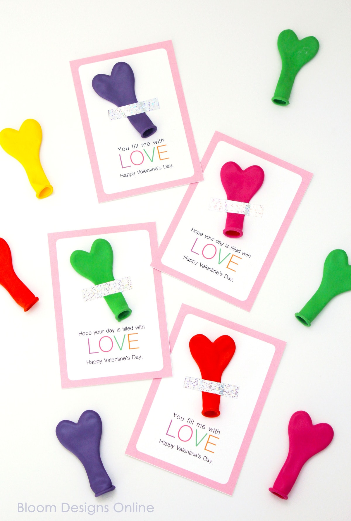 filled with love valentines by bloom design