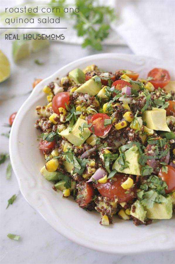 Roasted Corn & Quinoa Salad