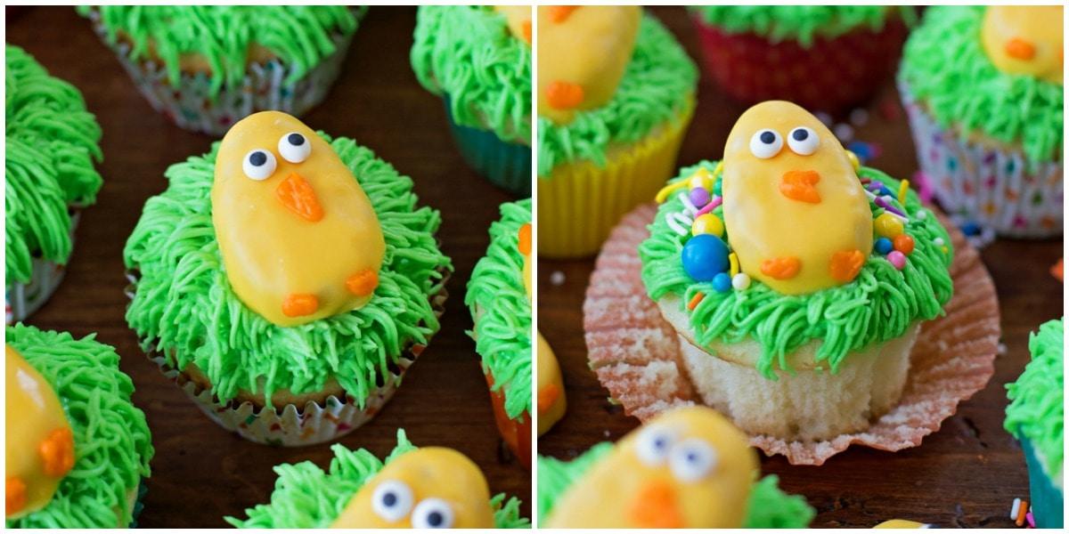 Easter Egg Cupcakes - homemade