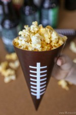 Printable Football Snack Cones