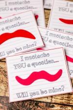 Putty and Mustache Valentines