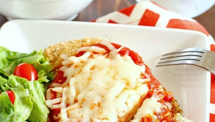 Skinny Chicken Parmesan