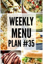 Weekly Menu Plan 35