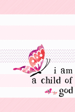 FREE I Am A Child Of God Printable