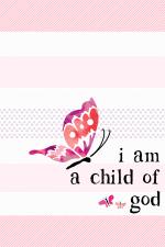 FREE I Am A Child Of God Printable