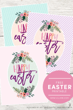FREE Happy Easter Print