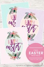 FREE Happy Easter Print