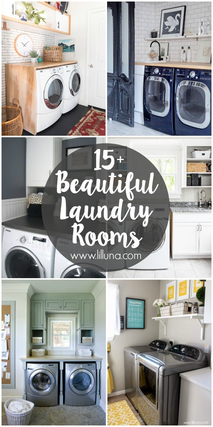 15 Beautiful Laundry Rooms Sure To Inspire You For Your Own Room