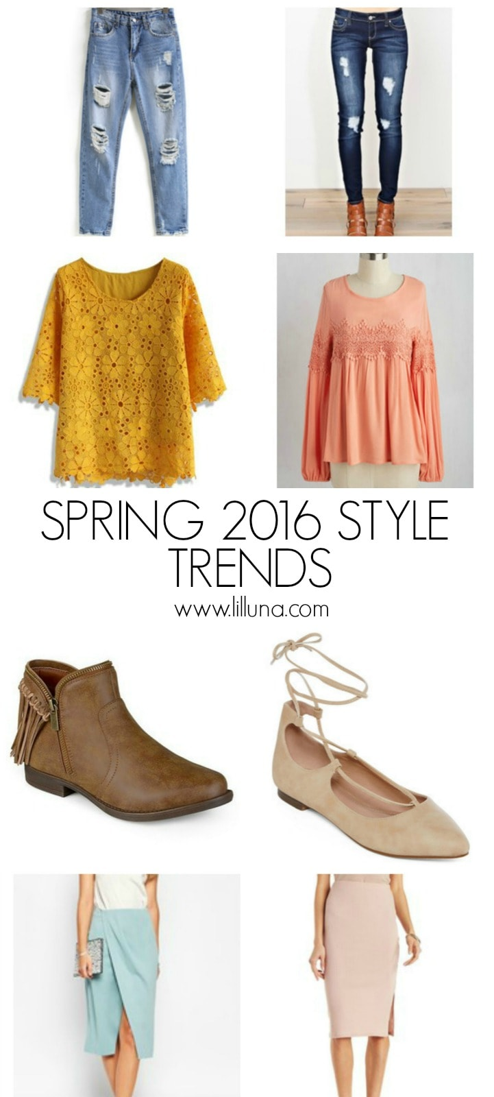 Spring Style Trends - spring has sprung, and we have the latest on this season's style trends! See it on { lilluna.com }!!