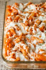 Cheesy Ziti Bake