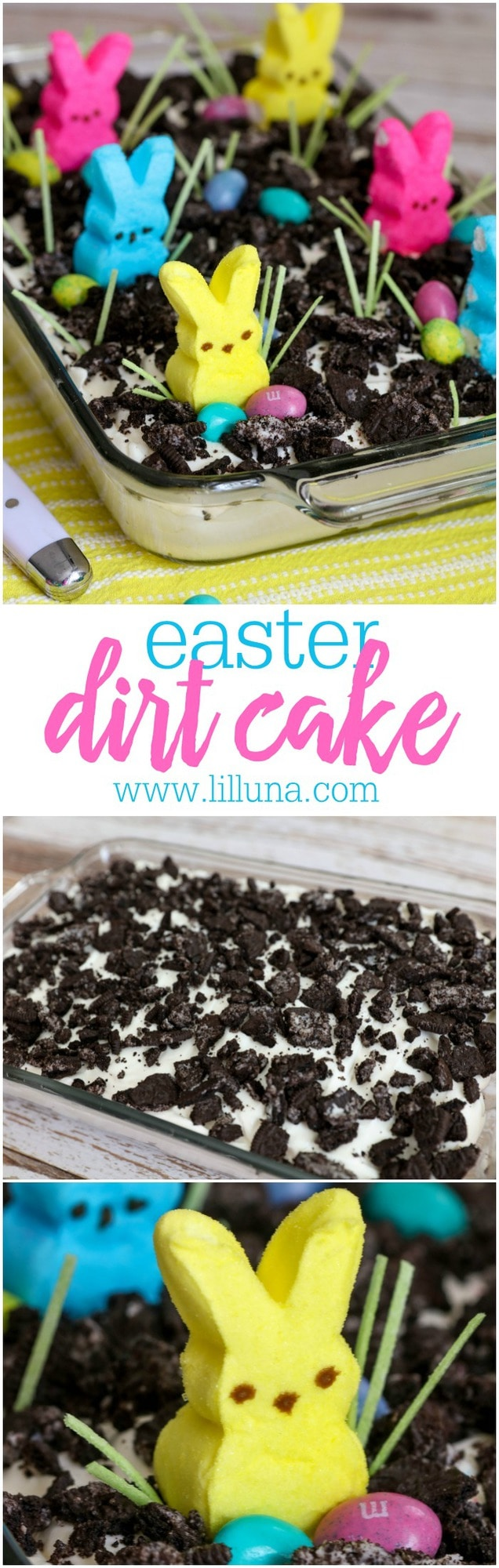BEST Easter Dirt Cake Lil Luna