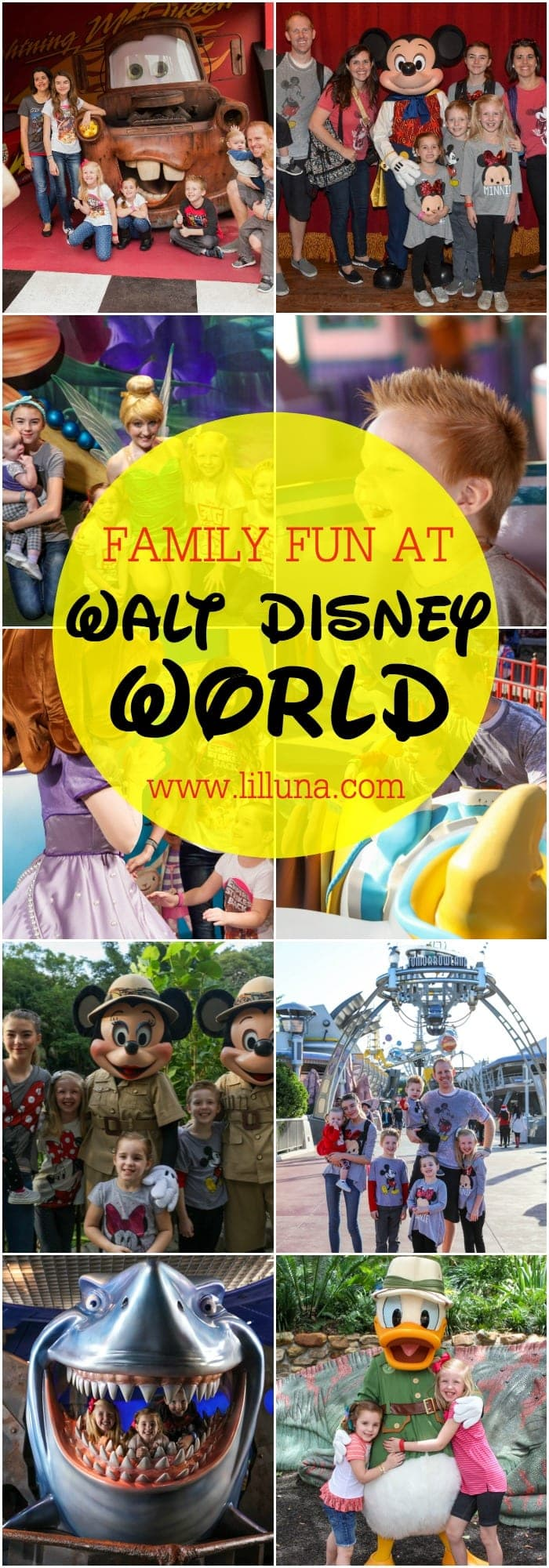 Family FUN at Walt Disney World - so many fun things to do at the Happiest Place on Earth. Get all the details on lilluna.com. #ad