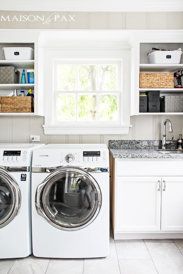 Stackable Washer Dryer Laundry Room Bathroom Layout