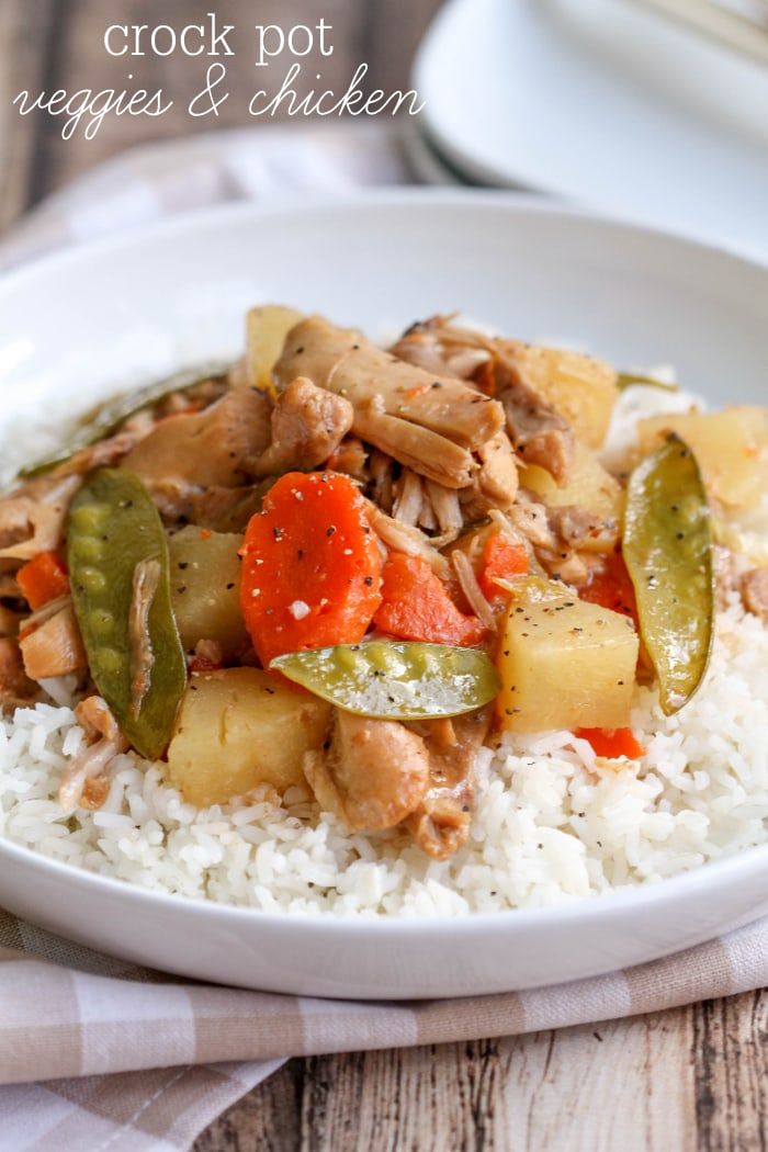 Do It Yourself Home Design: Crock Pot Chicken And Veggies