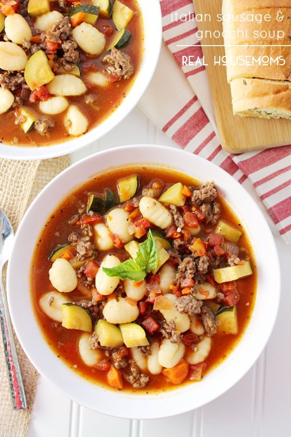Italian Sausage and Gnocchi Soup