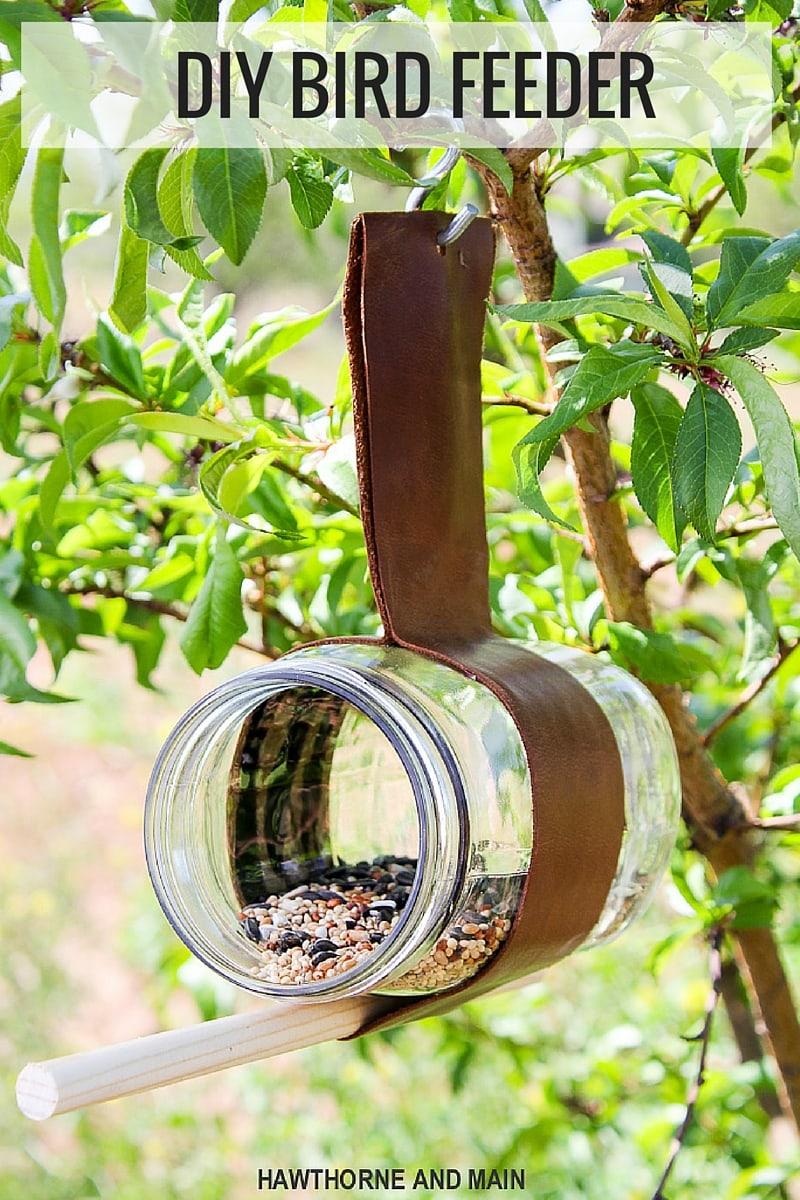 diy bird feeder lil 39 luna. Black Bedroom Furniture Sets. Home Design Ideas