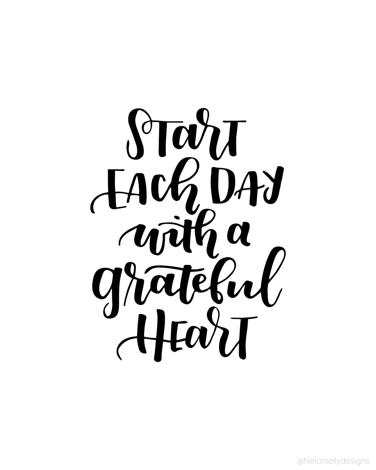 Funny Motivational Quotes Pinterest: Start Each Day With A Grateful Heart