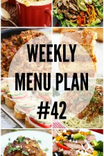 Weekly Menu Plan 42