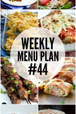 Weekly Menu Plan #44 HERO