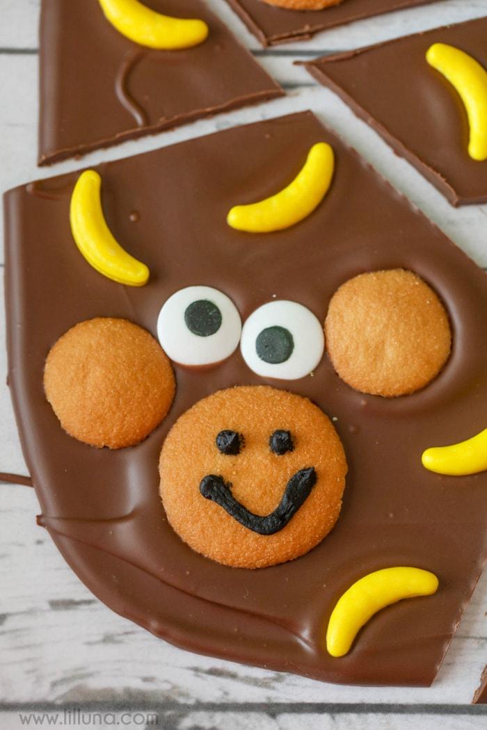 Monkey Bark - so cute and so simple!! Everyone will love this treat idea.