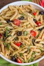 Penne, Tomato and Mozzarella Salad