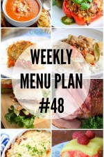 Weekly Menu Plan 48