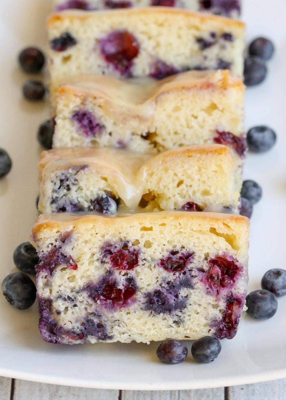 Blueberry quick bread recipe