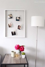 DIY Chicken Wire Photo Display
