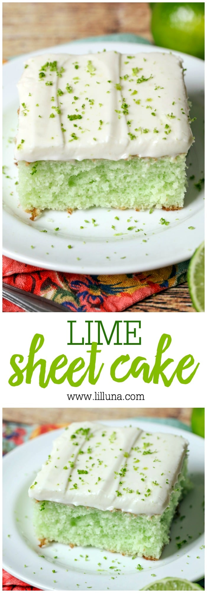 Lime Sheet Cake Recipe