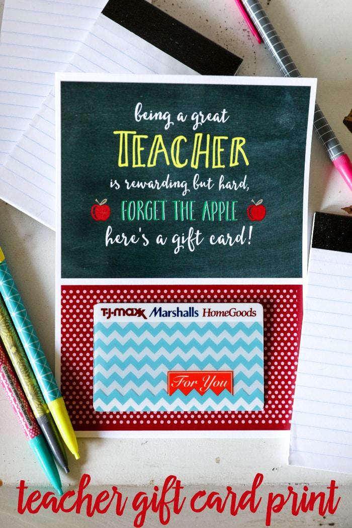 Weekly Calendar Ideas : Teacher appreciation gift card holder lil luna