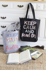 DIY Library Book Bags