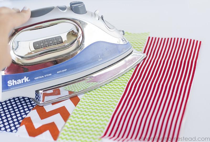 Ironing interfacing copy