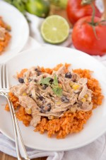 Slow Cooker Creamy Taco Ranch Chicken