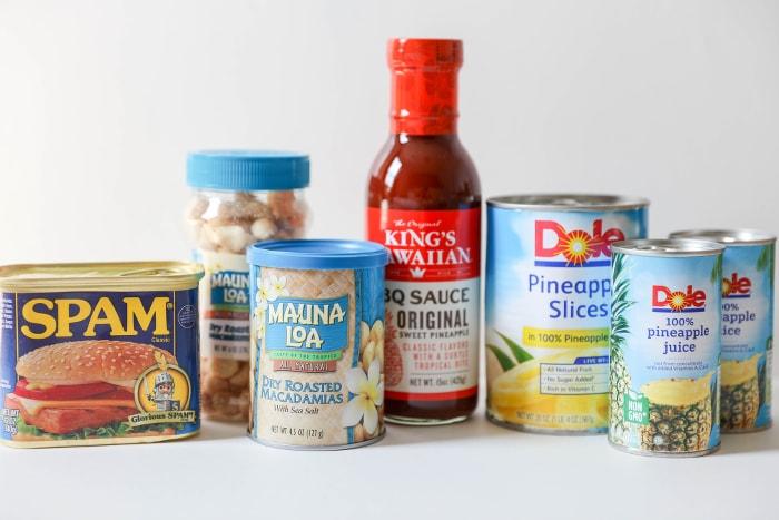 Hawaiian Foods week products