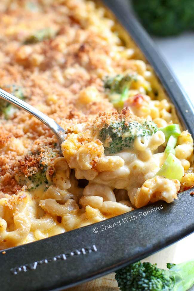 Broccoli Cheese Casserole with Ham